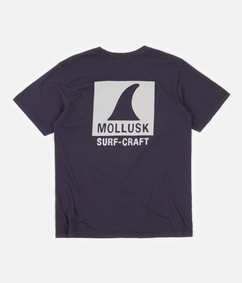 Mollusk Surf Craft T-Shirt - Black Indigo