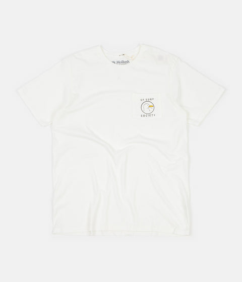 Mollusk Surf Society T-Shirt - White
