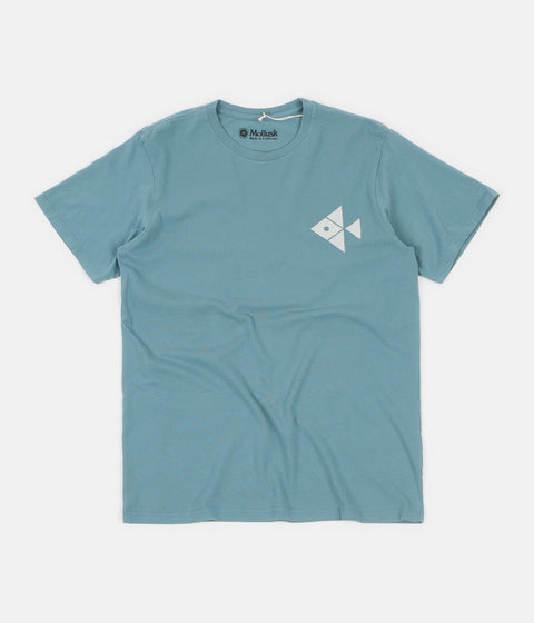 Mollusk Synergy T-Shirt - Washed Sapphire