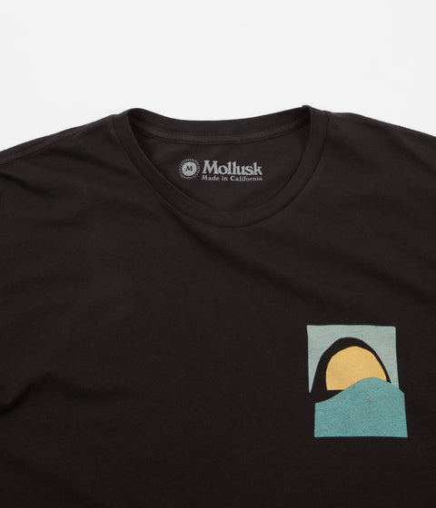 Mollusk Tom Tom T-Shirt - Faded Black