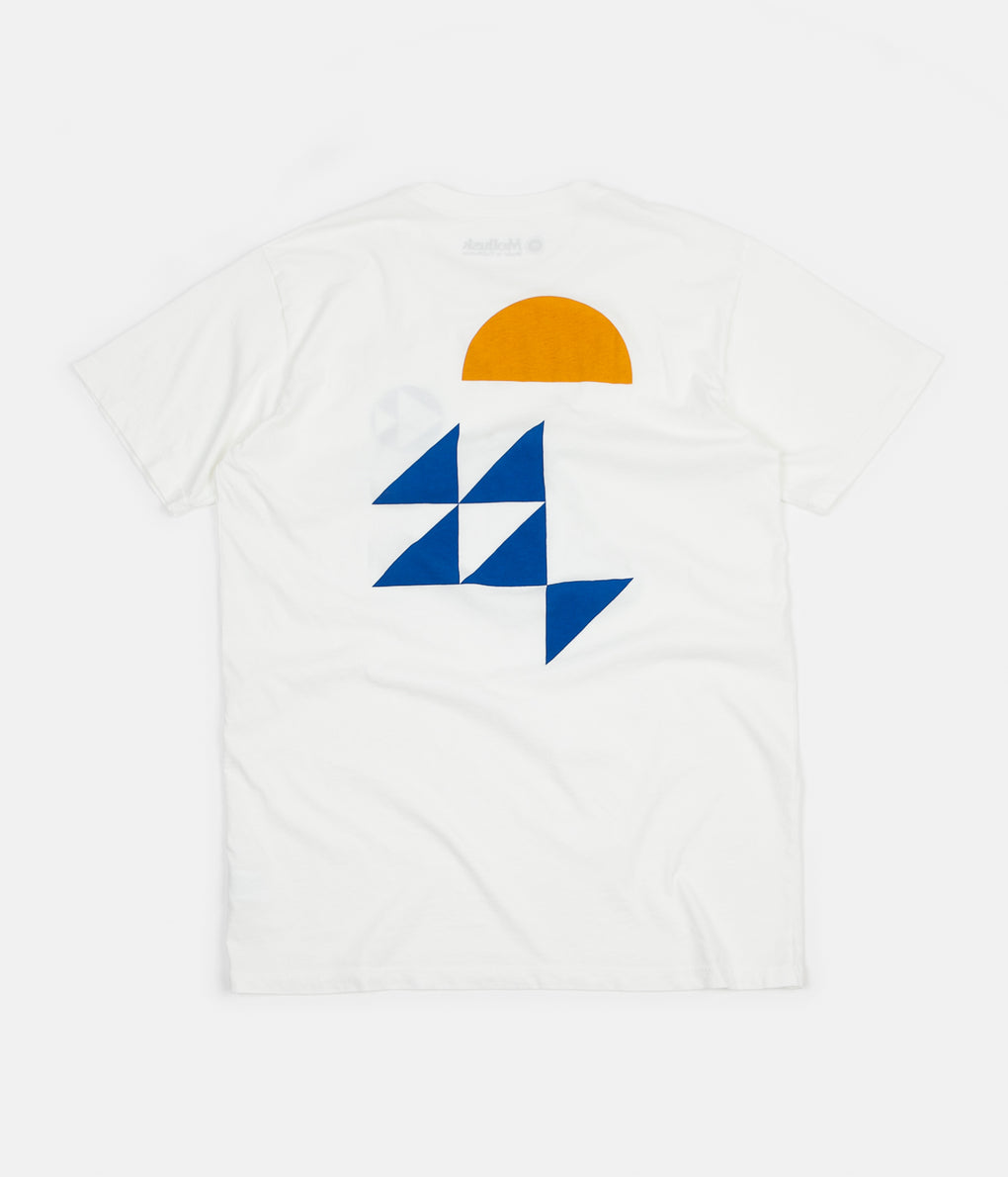 Mollusk Triangulation T-Shirt - White