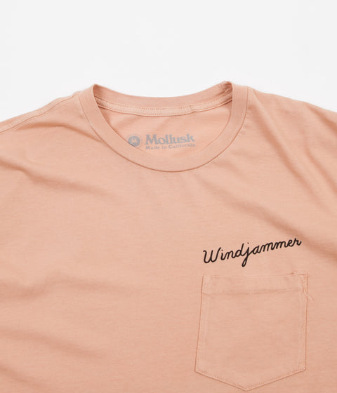 Mollusk Windjammer T-Shirt - Blush