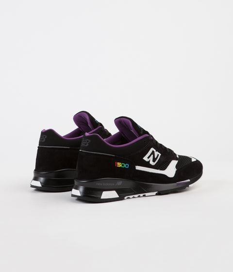 New Balance M1500 Colour Prism Made In UK Shoes - Black / White