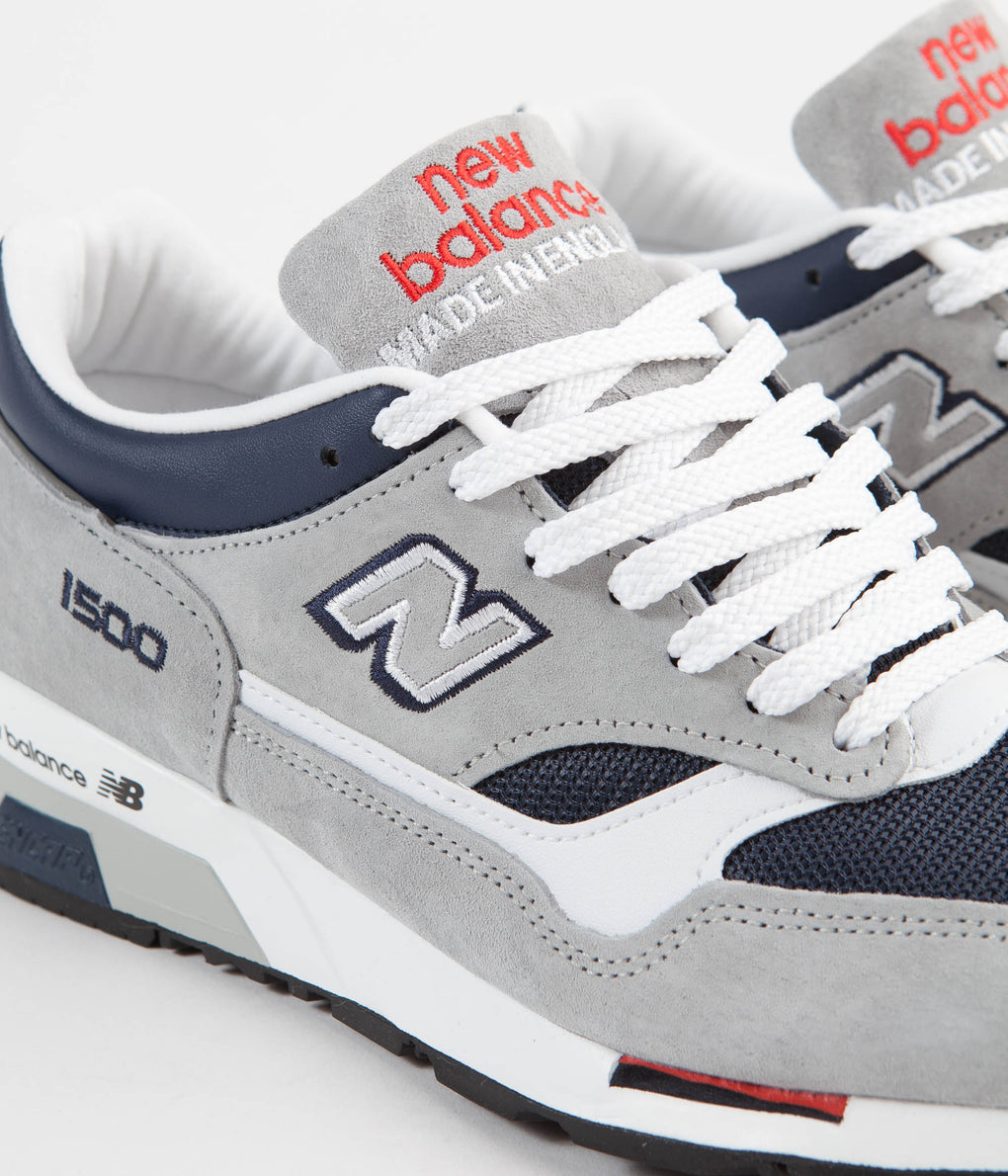New Balance 1500 Made in UK Shoes - Grey / Navy / Red   Always in ...