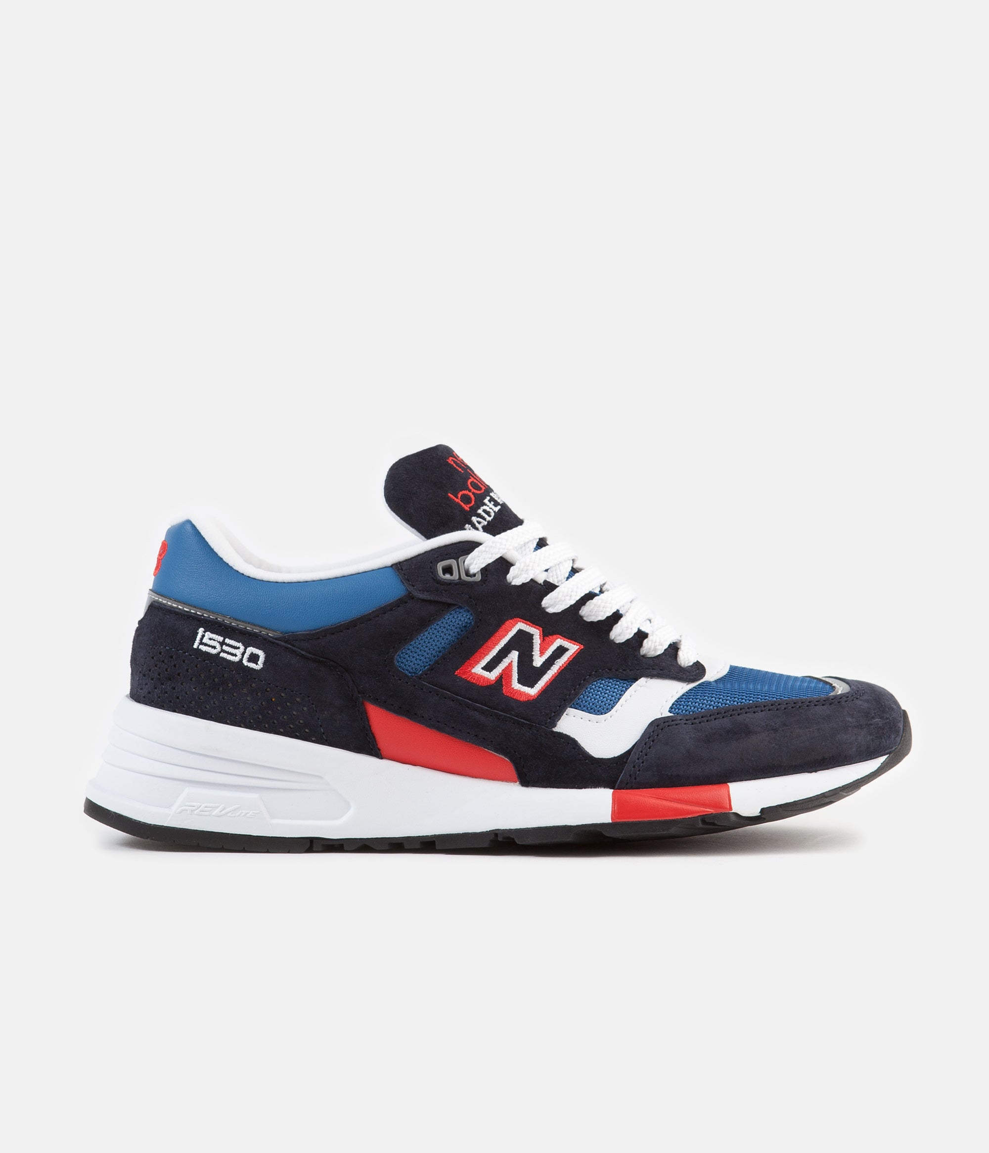 e3e5eac570db7 New Balance 1530 Made in UK Shoes - Navy / Blue / Red | Always in Colour