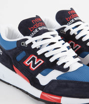 New Balance 1530 Made in UK Shoes - Navy / Blue / Red