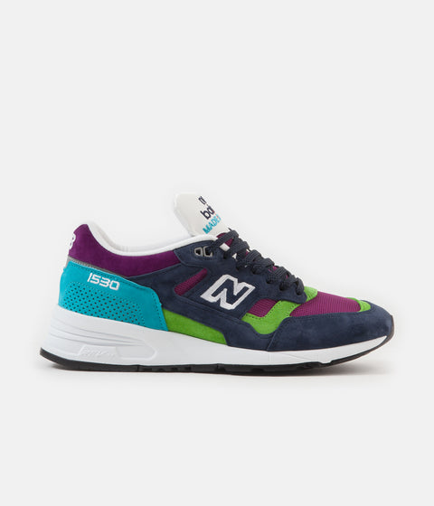 New Balance 1530 Made In UK Shoes - Navy / Purple / Blue