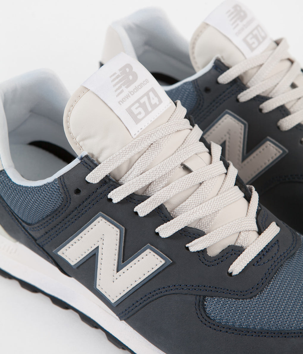 New Balance 574 Shoes - Outerspace / Sea Salt | Always in Colour