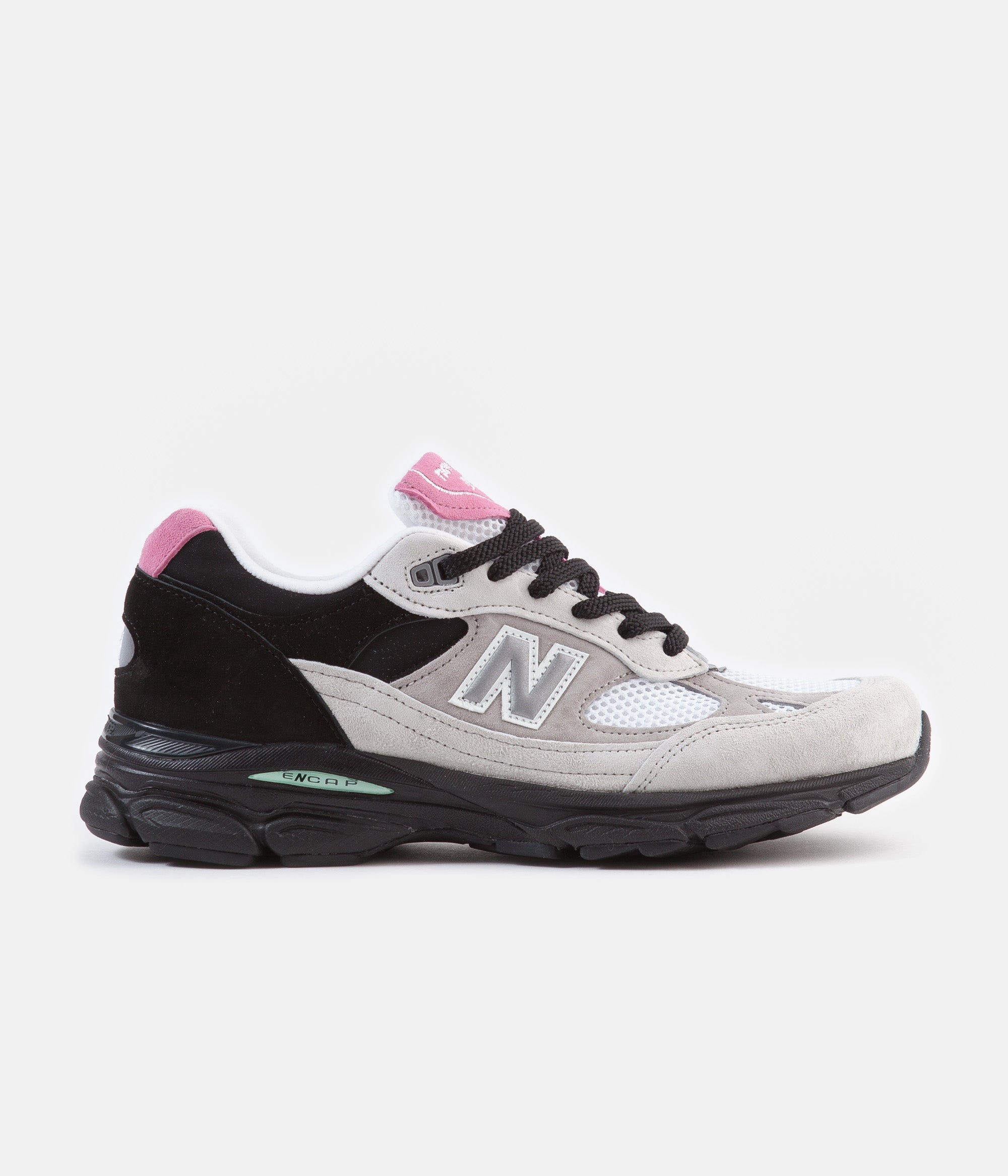 1b6a324efe57c New Balance 991.9 Made In UK Shoes - White / Black / Grey   Always ...