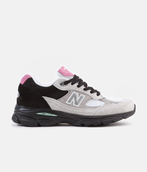 New Balance 991.9 Made In UK Shoes - White / Black / Grey