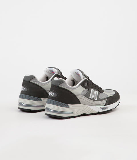 New Balance M991XG Made in UK Shoes - Black / Grey / Arctic Fox