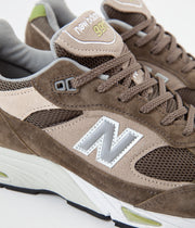 New Balance 991 Made In UK Shoes - Brown / Tan