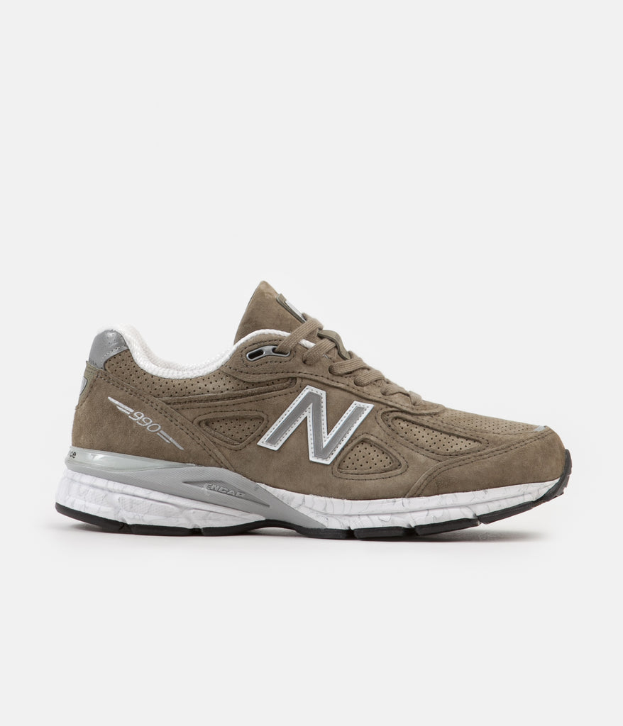 low priced f9ea6 ac419 New Balance M990V4 Made In US Shoes - Covert Green