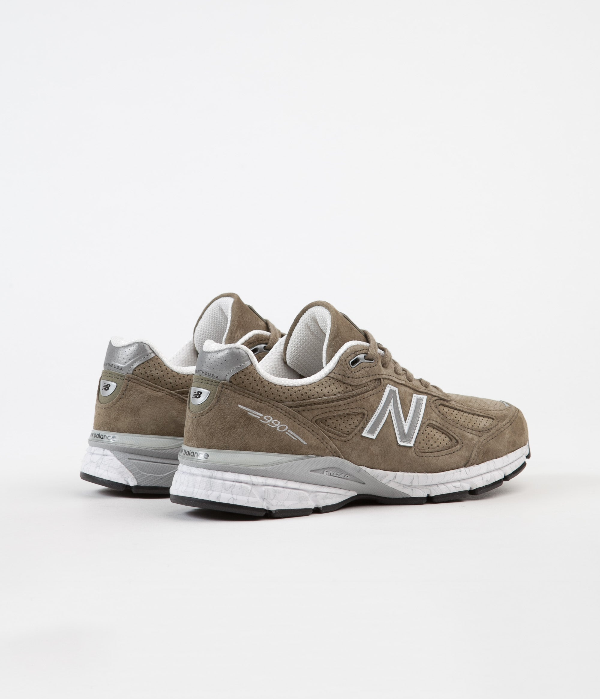 sale retailer 7b47b dd33a New Balance M990V4 Made In US Shoes - Covert Green | Always ...