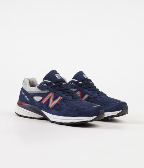New Balance M990V4 Made In US Shoes - Navy