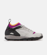 Image for Nike ACG Air Revaderchi Shoes - Granite / Black - Red Plum - Pro Gold