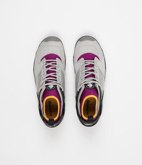 Nike ACG Air Revaderchi Shoes - Granite / Black - Red Plum - Pro Gold