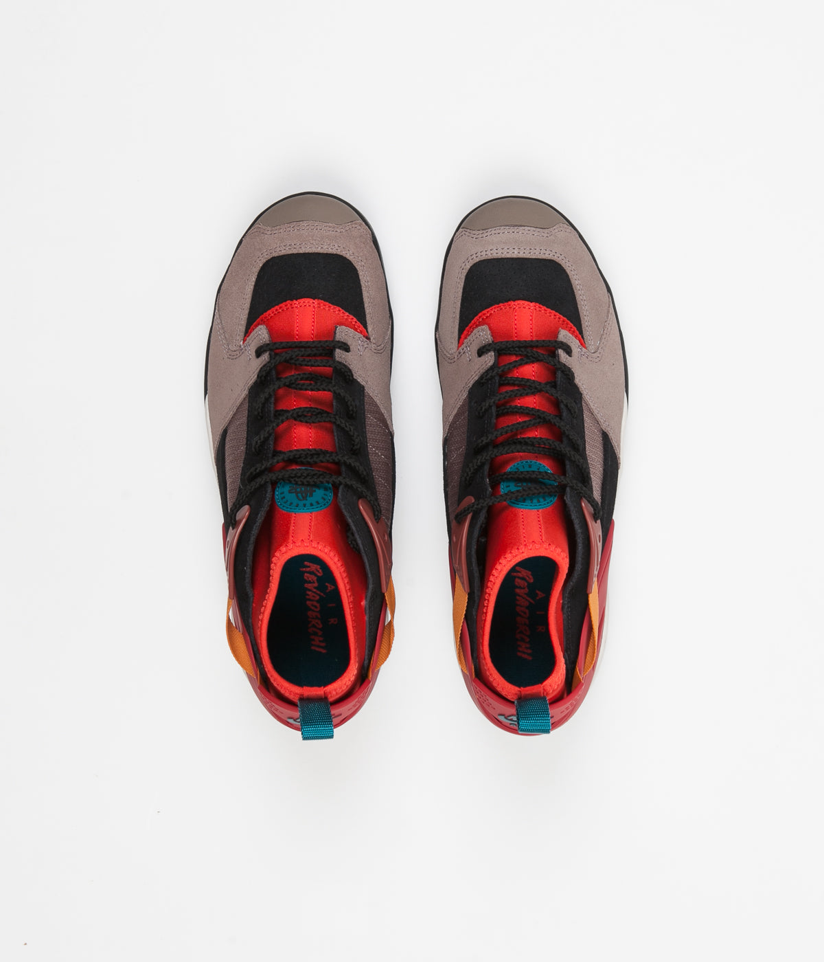6c76d79242d32 Nike ACG Air Revaderchi Shoes - Gym Red   Geode Teal - Habanero Red -  Monarch ...