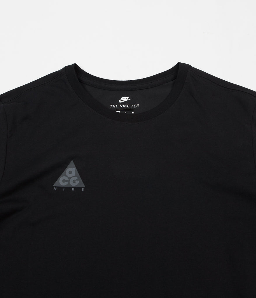 Nike ACG Long Sleeve T-Shirt - Black   Black  181eb84b2deb