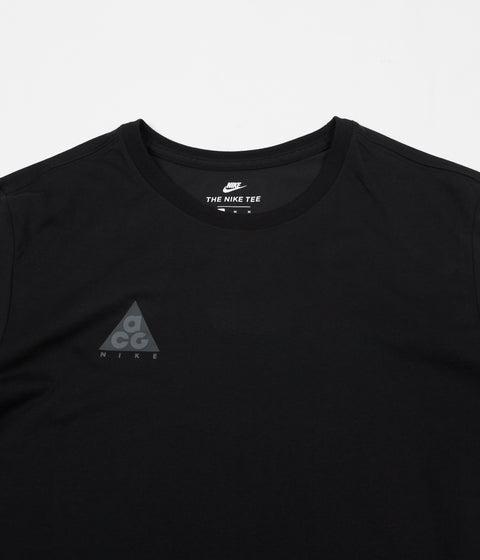 Nike ACG Long Sleeve T-Shirt - Black / Black