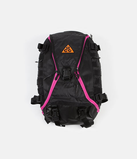 Nike ACG Responder Backpack - Black / Active Fuchsia / Safety Orange
