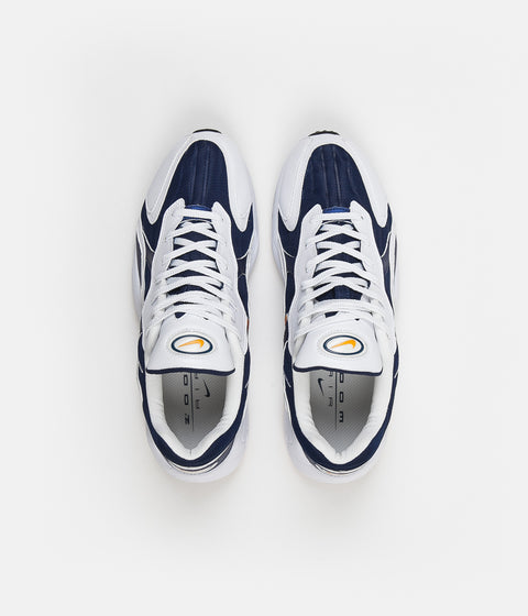 Nike Air Zoom Alpha Shoes - Binary Blue / Carotene - White - Black