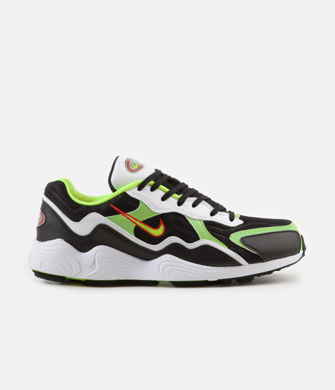 Nike Air Zoom Alpha Shoes - Black / Volt - Habanero Red - White