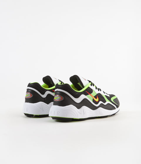 sports shoes 9b389 177b0 ... Nike Air Zoom Alpha Shoes - Black   Volt - Habanero Red - White ...