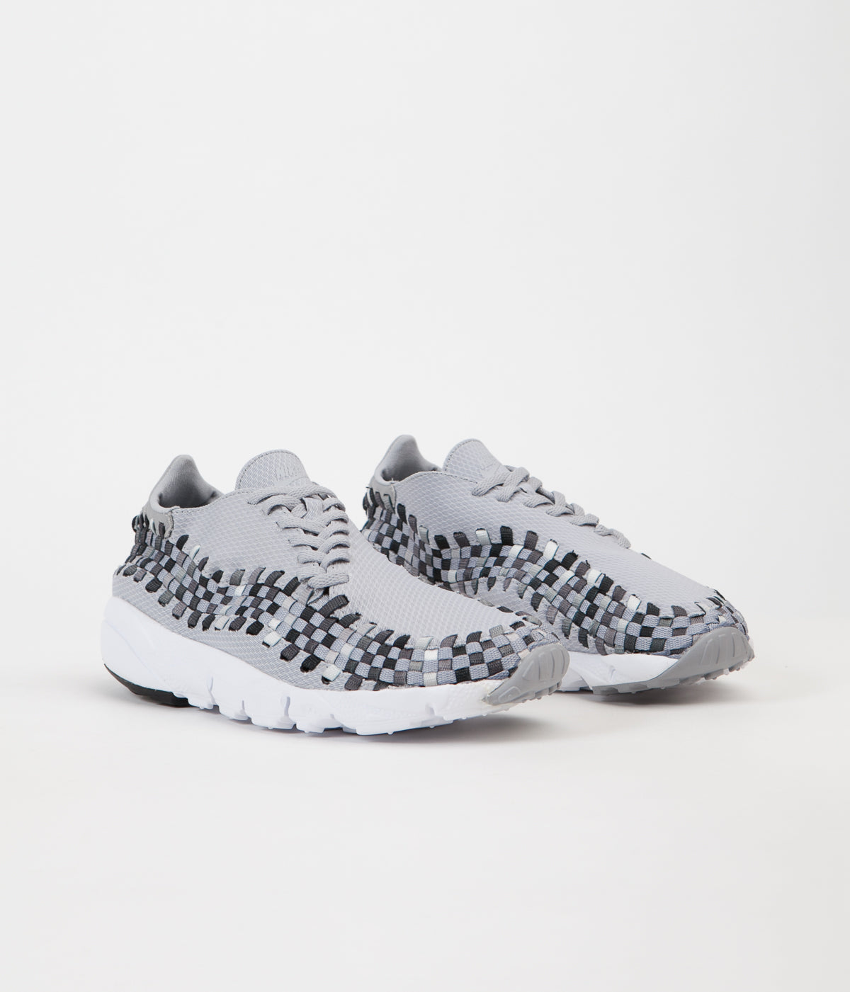 official photos 1af33 8a9dc ... Nike Air Footscape Woven NM Shoes - Wolf Grey   Black - Dark Grey -  White ...
