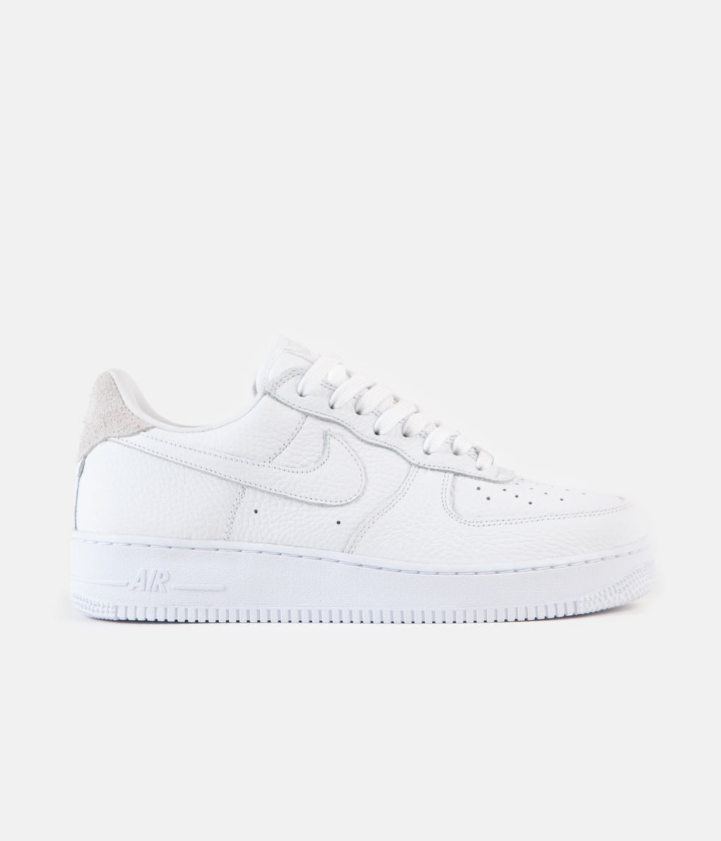 Nike Air Force 1 '07 Craft Shoes - White / White - Summit White - Vast Grey