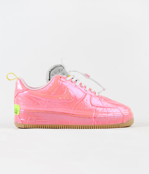Nike Air Force 1 Experimental Shoes - Racer Pink / Arctic Punch - Sail - Opti Yellow
