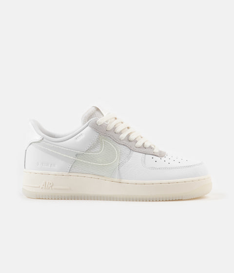 Nike Air Force 1 LV8 Shoes - White / White - Sail - Black