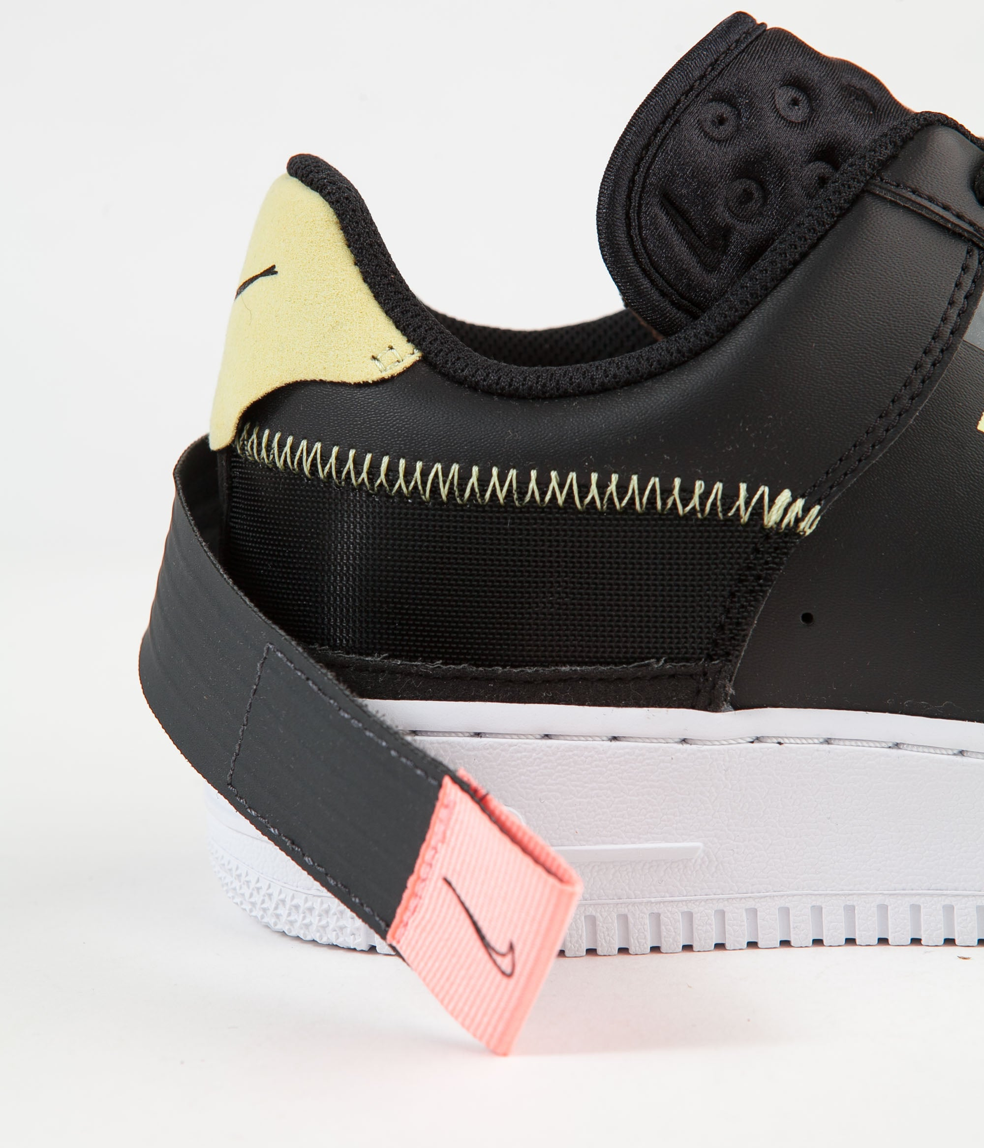 Nike Air Force 1 Type Shoes - Black