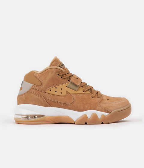 Nike Air Force Max Premium Shoes - Flax / Flax - Phantom - Gum Light Brown
