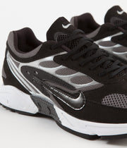 Nike Air Ghost Racer Shoes - Black / Black - Dark Grey - White