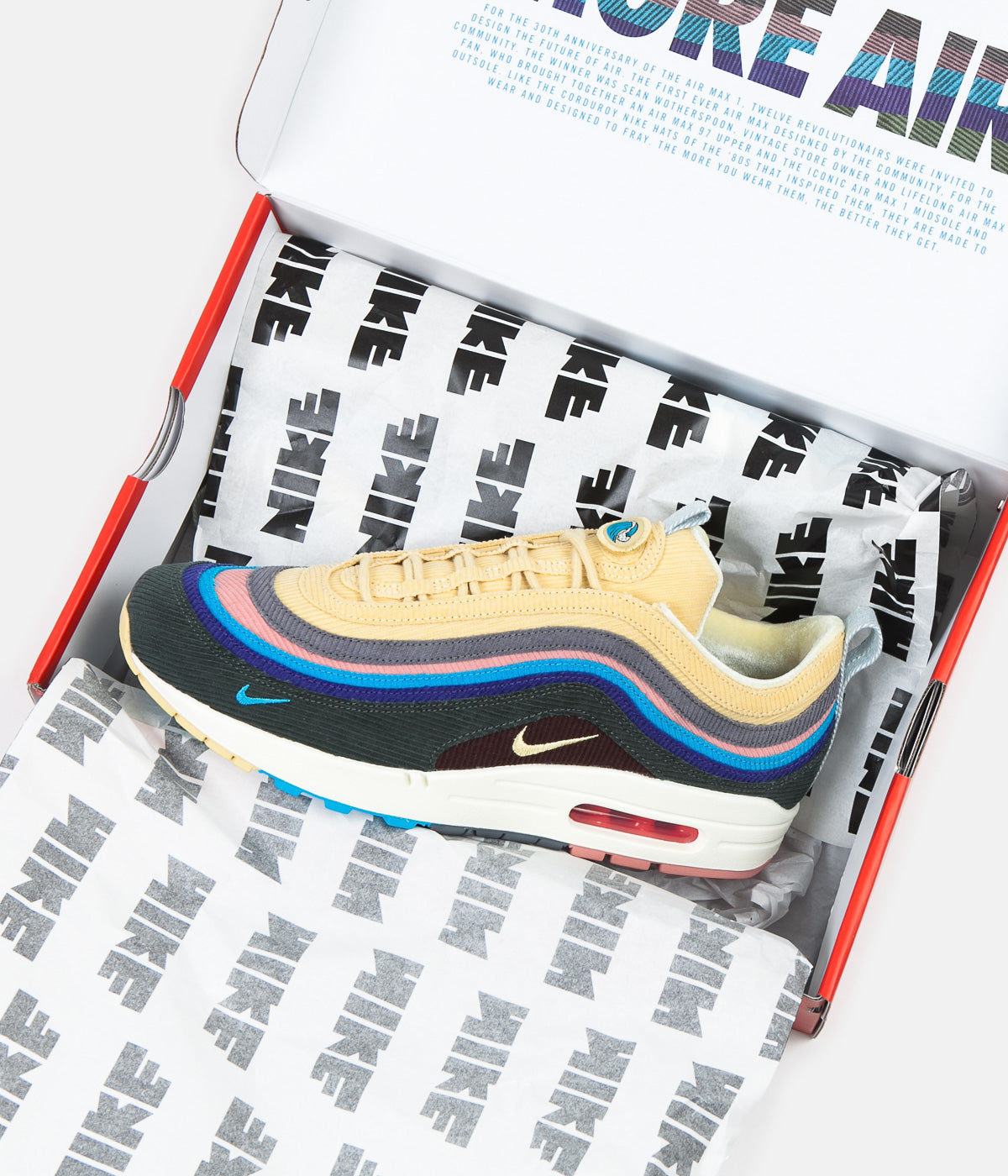 Nike Air Max 197 VF Sean Wotherspoon Shoes Light Blue