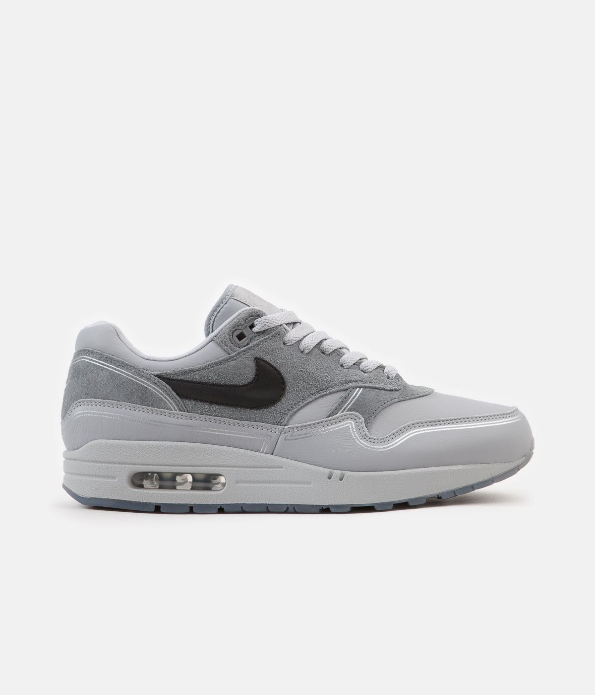 sale retailer 8ff4e c254a Nike Air Max 1 Centre Pompidou Shoes - Wolf Grey   Black - Cool Grey ...