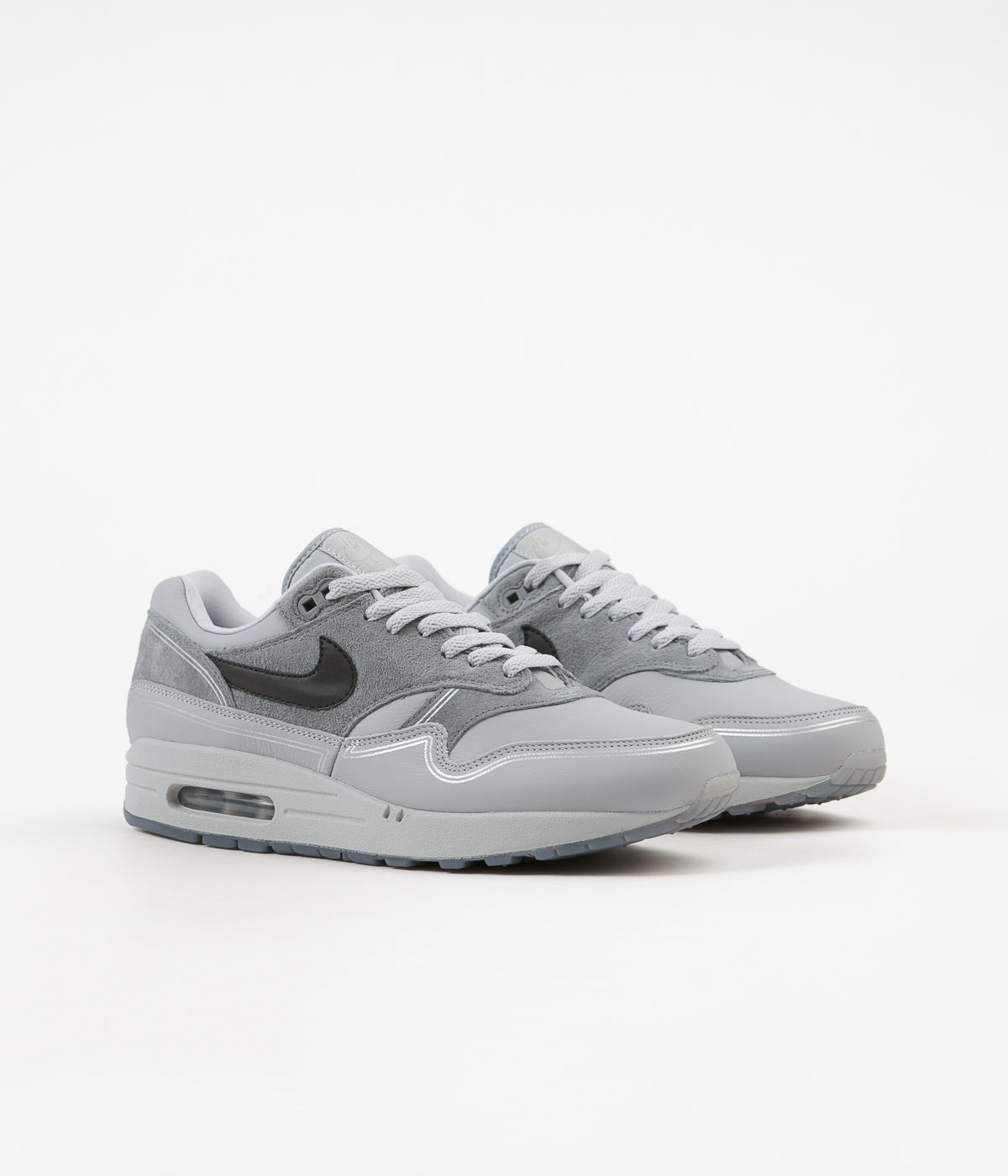 2dd4949ad139 ... Nike Air Max 1 Centre Pompidou Shoes - Wolf Grey   Black - Cool Grey ...