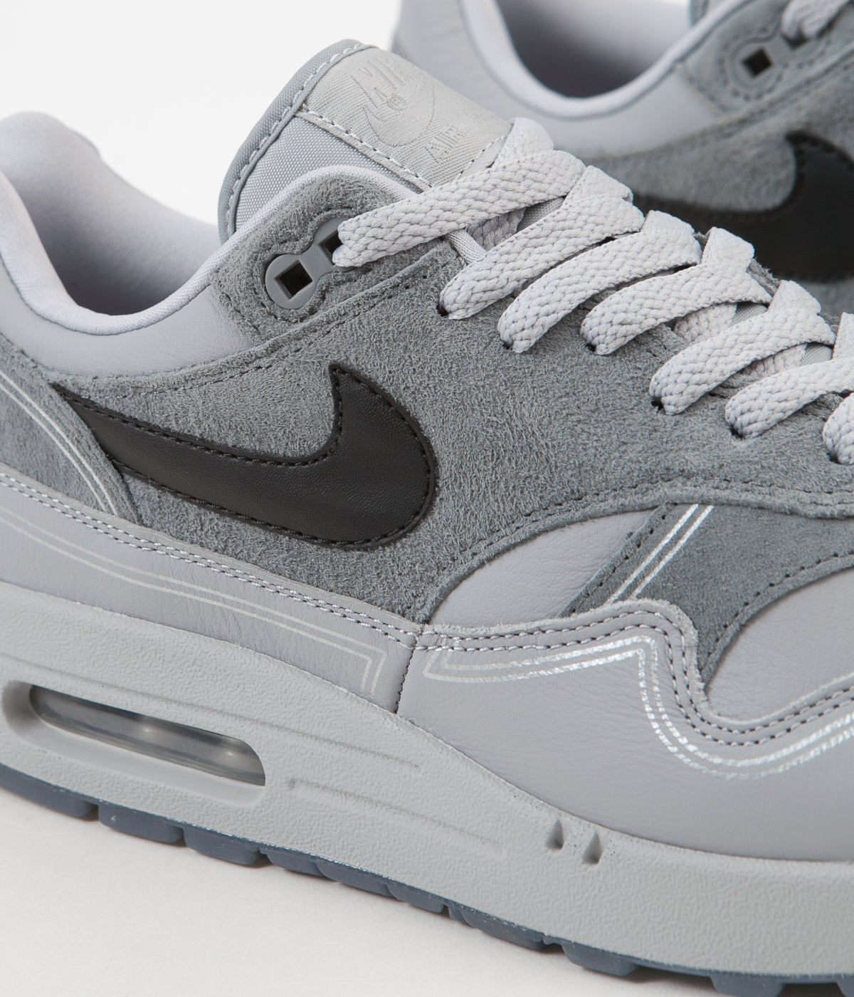 e0b2ce3da05 Nike Air Max 1 Centre Pompidou Shoes - Wolf Grey / Black - Cool Grey ...