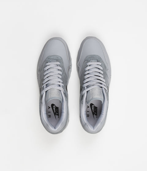 Nike Air Max 1 Centre Pompidou Shoes - Wolf Grey / Black - Cool Grey