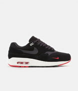 Image for Nike Air Max 1 Premium Shoes - Black / Oil Grey - University Red - Sail