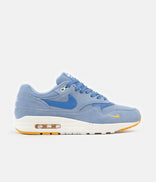 Image for Nike Air Max 1 Premium Shoes - Work Blue / Mountain Blue - Yellow Ochre