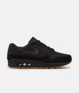 Image for Nike Air Max 1 Shoes - Black / Black - Black - Gum Med Brown
