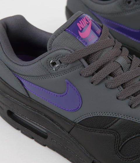 separation shoes 9b6c1 a501e ... australia nike air max 1 shoes dark grey fierce purple black pink blast  87c8f d44fc