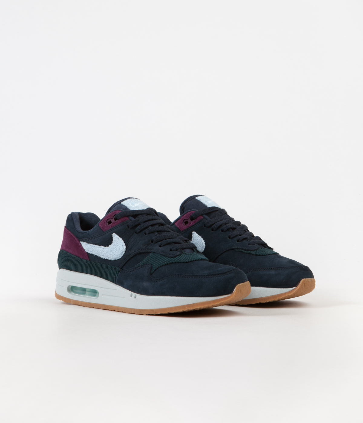 to buy catch lowest discount Nike Air Max 1 Shoes - Dark Obsidian / Cobalt Tint - Ocean ...