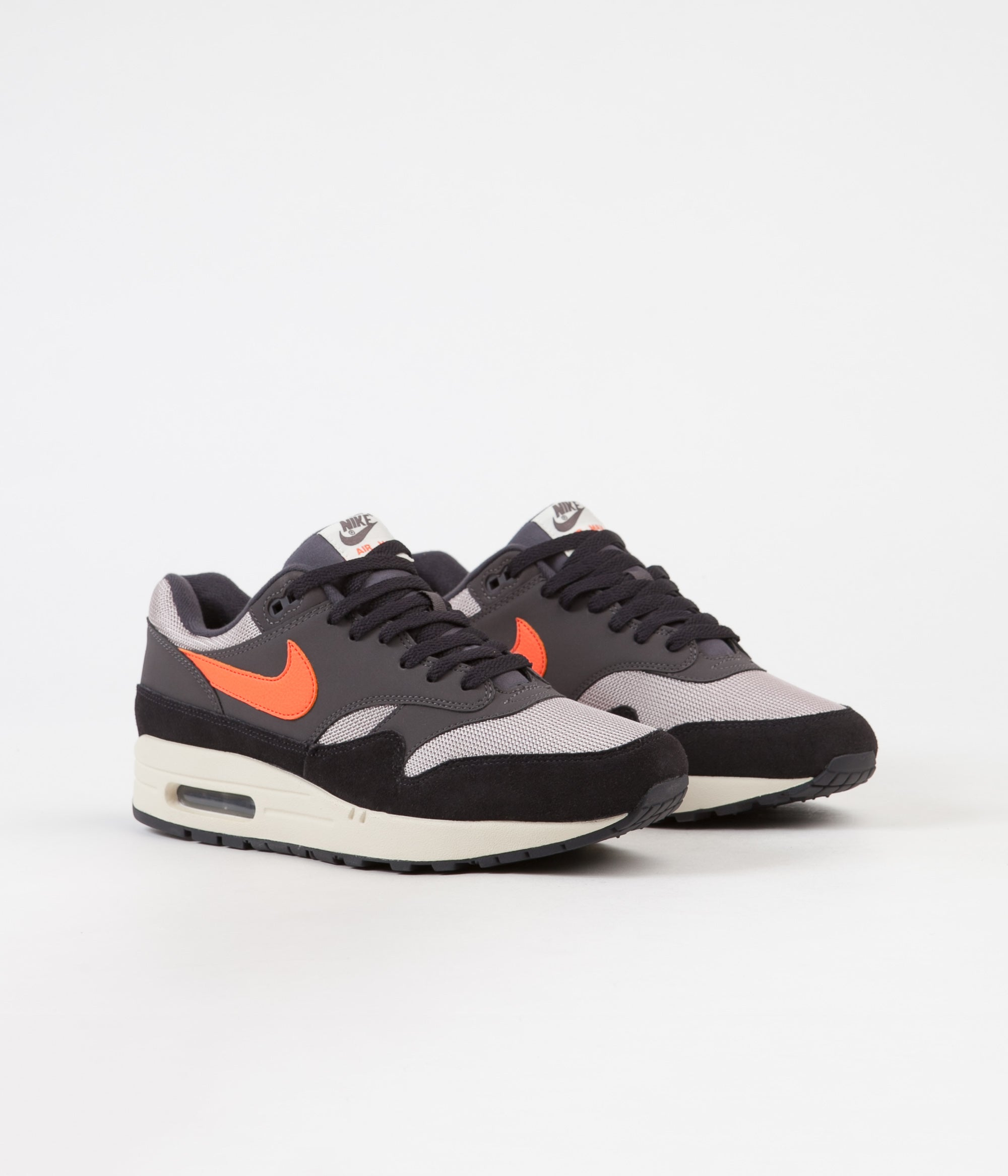 air max 1 thunder grey orange