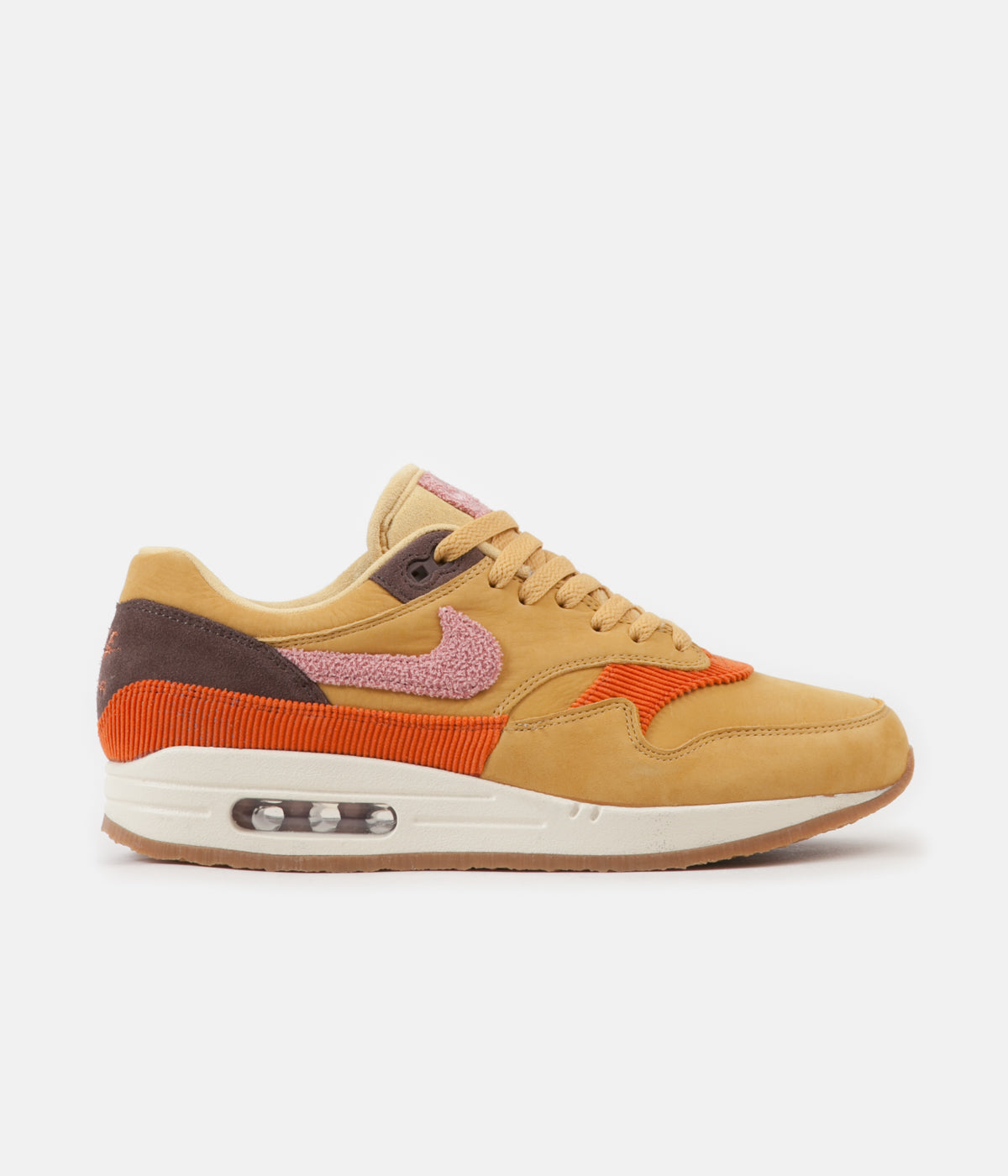 new product c6ef1 ffb81 ... Nike Air Max 1 Shoes - Wheat Gold  Rust Pink - Baroque Brown ...