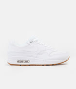 Image for Nike Air Max 1 Shoes - White / White - White - Gum Med Brown