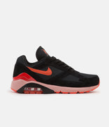 Image for Nike Air Max 180 Shoes - Black / Team Orange - University Red