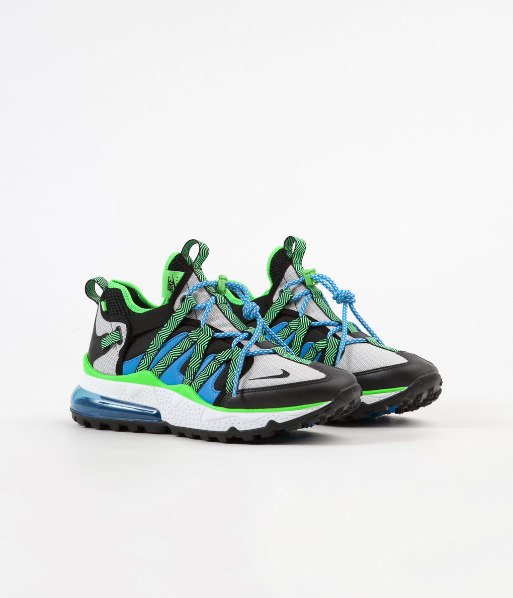 Nike Air Max 270 Bowfin Shoes - Black / Black - Phantom - Photo Blue